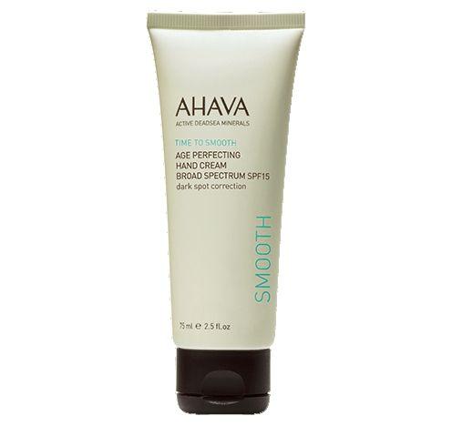 Image of Ahava Age Perfecting Krém na ruce proti stárnutí a tmavým skvrnám SPF15 75 ml