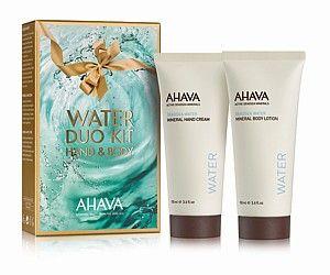 Ahava Duo minerální krém na ruce a tělové mléko